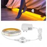 Banda Led cu Senzor de Miscare ideala pentru mobilier, dormitor, bucatarie, dressing, 1,5m lungime