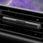 Odorizant de masina minimalist, Reglezi intensitatea automat, 5 arome disponibile, Culori Argintiu, Auriu, Rosu si Negru