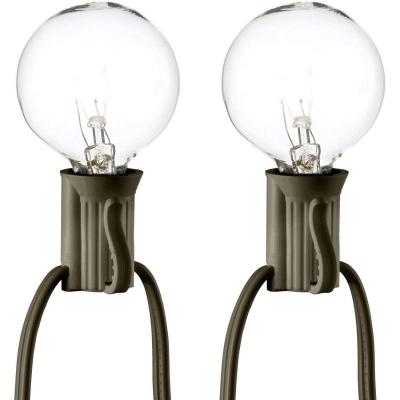 Ghirlanda luminoasa cu 25 Leduri G40 ideala pentru decor Craciun, Foisor, Pensiune - Exterior, Cununie civila, Evenimente