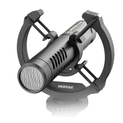 Microfon extern metalic N2 MIRFAK pentru aparat foto, telefon mobil, camere video, reportofoane, computer