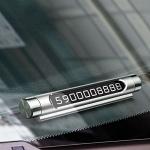 Suport Reflectorizant pentru Afisare Numar de Telefon in Bord Auto   Model 2019   Mod Deschis-Inchis