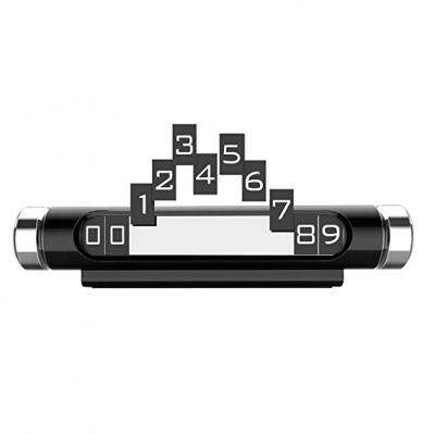 Suport Reflectorizant pentru Afisare Numar de Telefon in Bord Auto | Model 2019 | Mod Deschis-Inchis