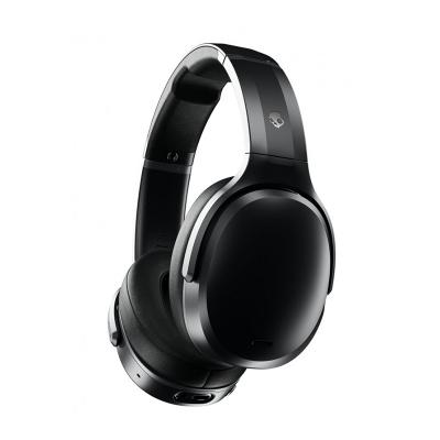 Casti Wireless On-Ear Skullcandy Crusher ANC Black, Autonomie 24h, Noise Cancellation, Sensory Bass