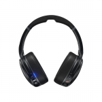 Casti Wireless On-Ear Skullcandy Crusher ANC Black, Autonomie 24h, Noise Cancellation, Sensory Bass