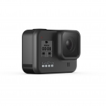 GoPro Hero 8 Black, 12MP, Night photo, LiveBurst, Video 4K60, TimeWarp 2.0, Rezistent la apă și praf