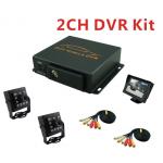 Sistem DVR Auto G20 pentru siguranta masinii, 2 Camere + Monitor