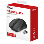 Mouse Wireless Trust Mydo Silent Click