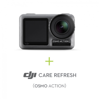 Camera Sport DJI Osmo Action + Asigurare DJI Care Refresh