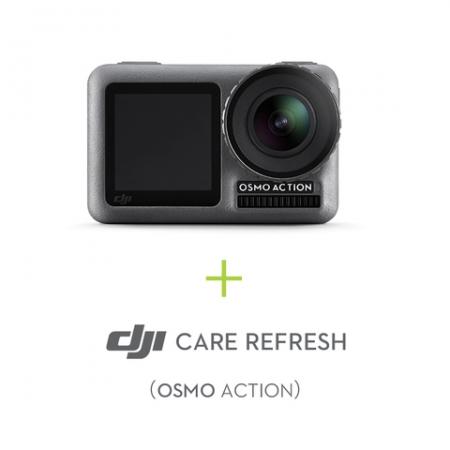 Camera Sport DJI Osmo Action + Asigurare DJI Care Refresh
