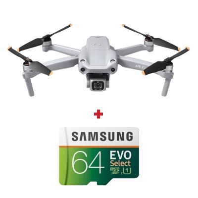 "DJI Air 2S, 1"" CMOS 20MP, 5.4K@30fps, Autonomie 31 min + card Samsung Evo Select 64GB"