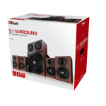 Boxe Trust Vigor 5.1 Surround, 75W