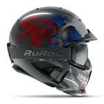 Casca Ski & Snowboard - Ruroc - RG1-DX Reaper + Smartwatch Cadou!