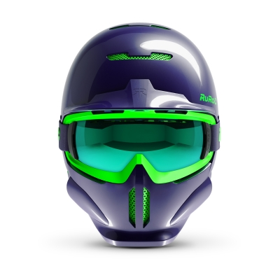 Casca Ski & Snowboard - Ruroc - RG1-DX Haze + Smartwatch Cadou!