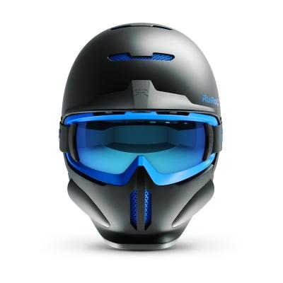 Casca Ski & Snowboard - Ruroc - RG1-DX Black Ice + Smartwatch Cadou!