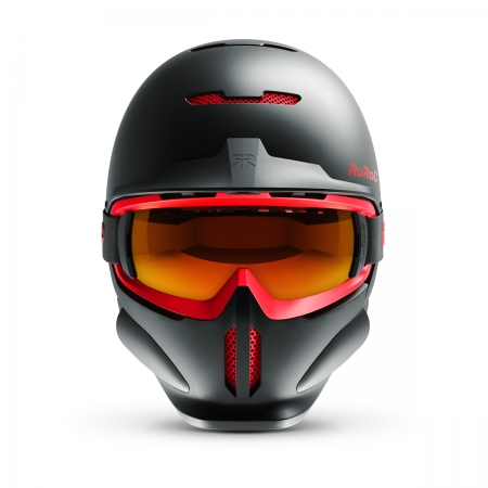 Casca Ski & Snowboard - Ruroc - RG1-DX Inferno + Smartwatch Cadou!