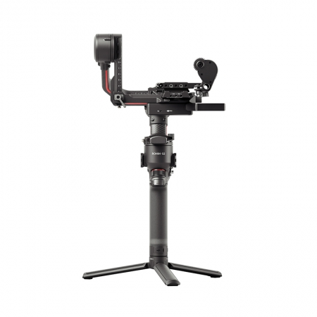 Stabilizator gimbal DJI RS2 PRO Combo, Autonomie 12h, Display touch screen color