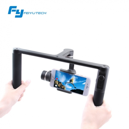 Stabilizator Feiyu Tech SPG Plus 3 Axe compatibil cu iPhone