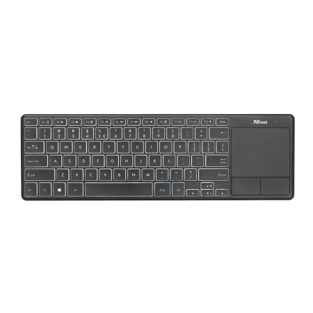 Tastatura wireless Trust Theza, Touchpad