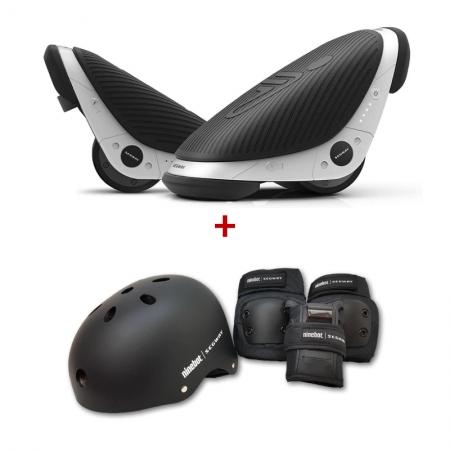 Role electrice Ninebot Segway Drift W1 + Set protectie Ninebot (Casca + Genunchiere + Cotiere + Palme)