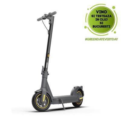 Trotineta electrica Ninebot by Segway KickScooter MAX G30E II, 350W, Viteza maxima 25 km/h, Autonomie 65 km