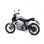 Motocicleta electrica Super Soco TS silver, permis conducere cat B, A1, A2 sau A