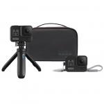 Travel Kit pentru GoPro Hero 5, 6, 7 (Shorty, sleeve, lanyard)