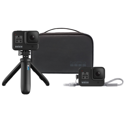 Travel Kit pentru GoPro Hero 5, 6, 7 (Shorty, sleeve, lanyard)