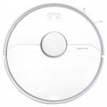Aspirator inteligent Xiaomi Roborock S6 Pure White, Autonomie 150min, Planificare inteligenta a locuintei, Rezervor de apa 180 ml